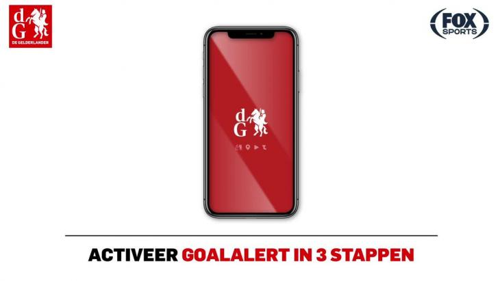 Goal alert DPG
