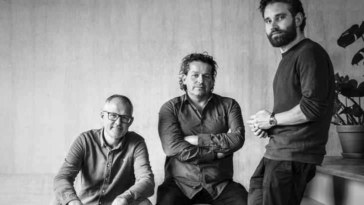Sander Heeroma, Halbo van der Klaauw en Vincent Lammers
