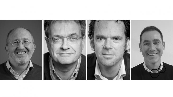 Ton Rodenburg, Peter van Zijp, Maarten Bakker, Mike Demelinne