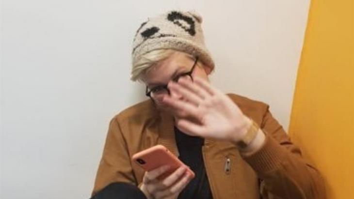 De Twitter-foto van Rosy Cobb. Het profiel heeft ze inmiddels gewist
