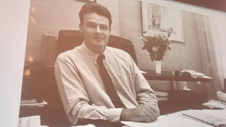Christian van Thillo in de beginjaren van de Persgroep