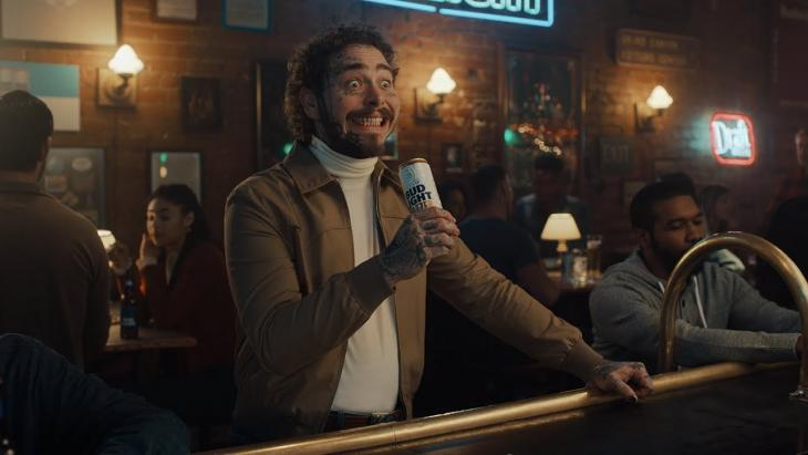 Post Malone in Bud Light - #PostyStore or #PostyBar