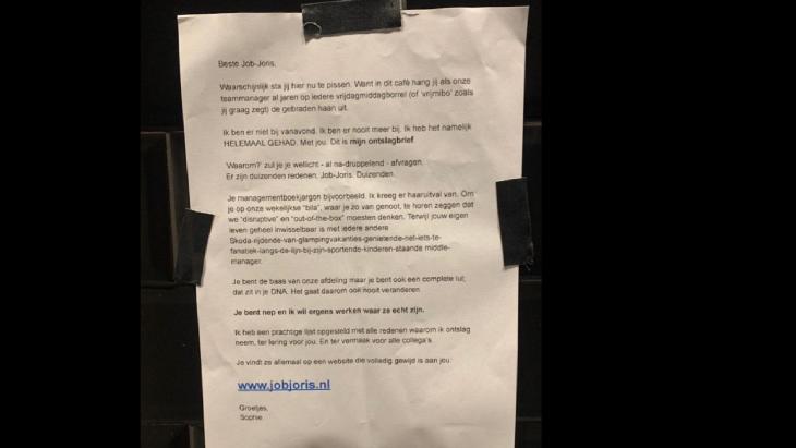 De brief van Sophie
