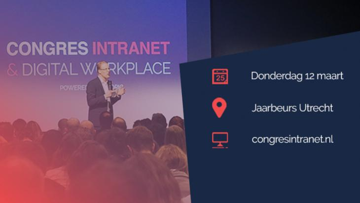 Congres Intranet & Digital Workplace: 12 maart