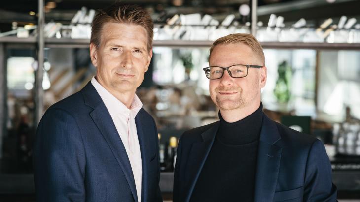 Brego Keller [links] & Jacco ter Schegget