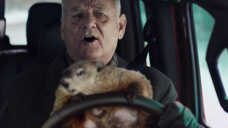 Jeep-commercial Groundhog Day