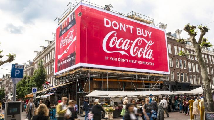 Koop ons niet als je ons niet helpt te recyclen