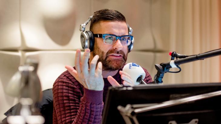 Jurgen van den Berg, van het Radio 1 Journaal