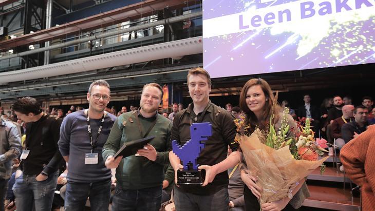 Winnaar Leen Bakker