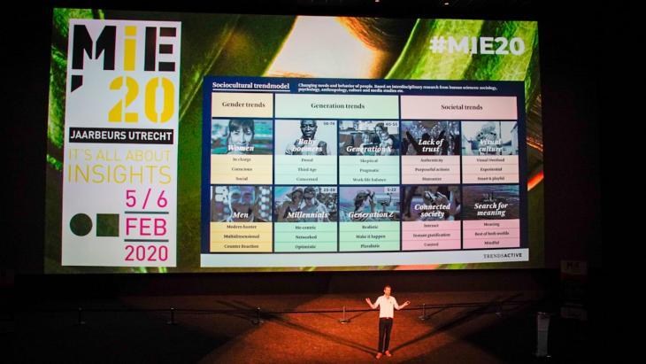 De nummer 1 lezing van MIE'20: Aljan de Boer van Trendsactive