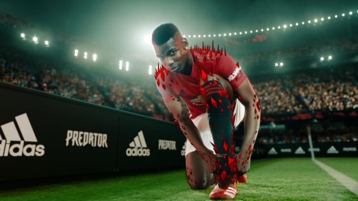 Paul Pogba voor Adidas Predator