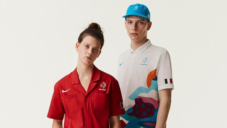Het skateboard-tenue voor Frankrijk