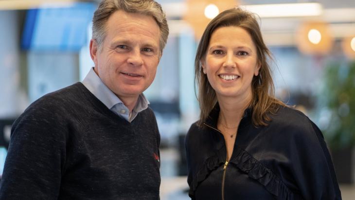 Conrad Hagemans en Leonie Rombout gaan Yourzine versterken