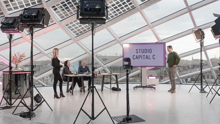 De plek waar de Dutch Media Awards donderdag worden uitgereikt