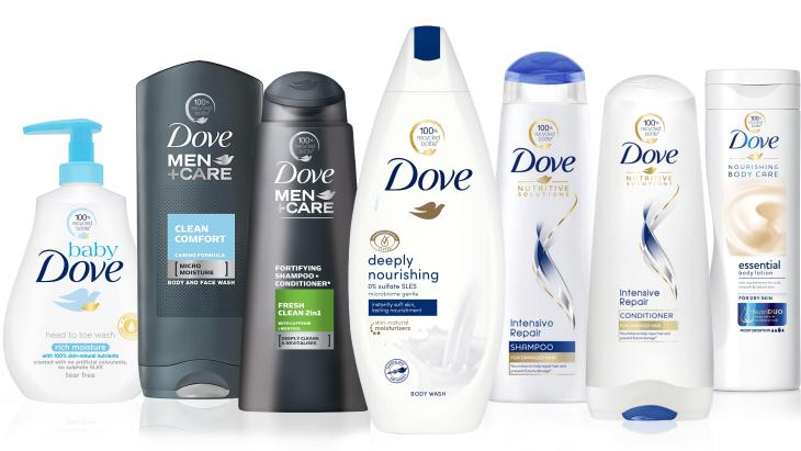 Dove & Dove Men + Care