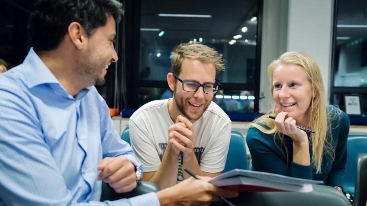 Deelnemers van de Visual Storytelling Factory