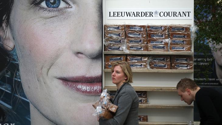 De Leeuwarder Courant, een van de titels van NDC