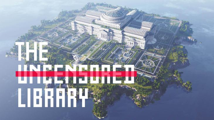 The Uncensored Library in Minecraft
