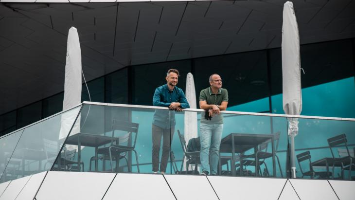 Ruud Schoen en Martin Boomkens