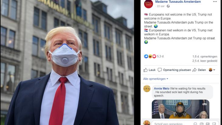 Tussauds en Trump