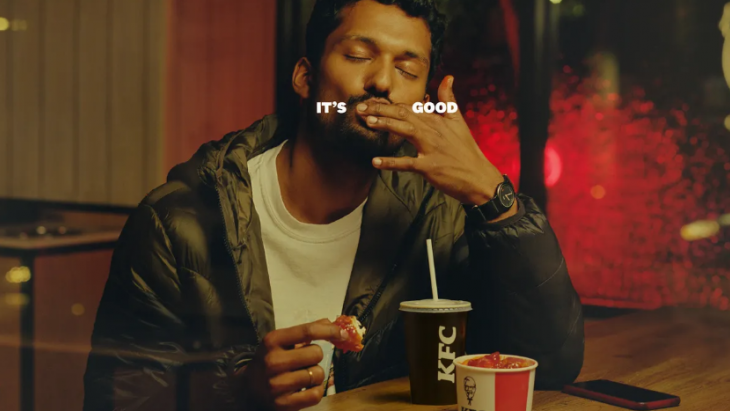 KFC - It's fingerlickin good