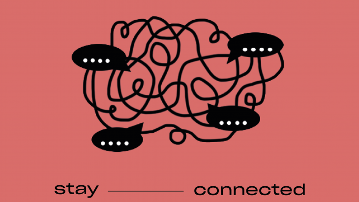 'Hi! stay connected'