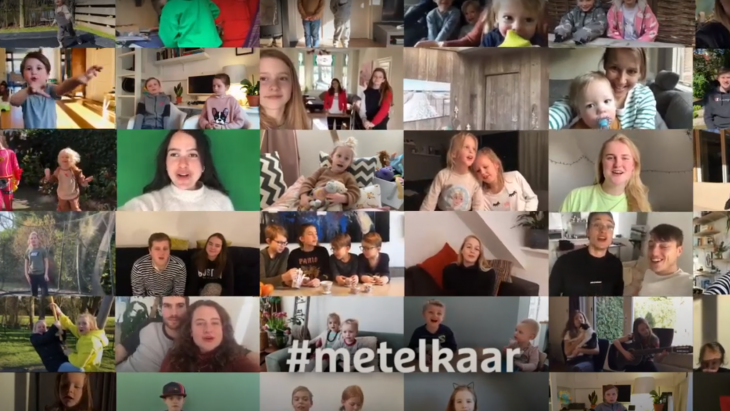 beeld uit commercial-reeks #metelkaar van DE