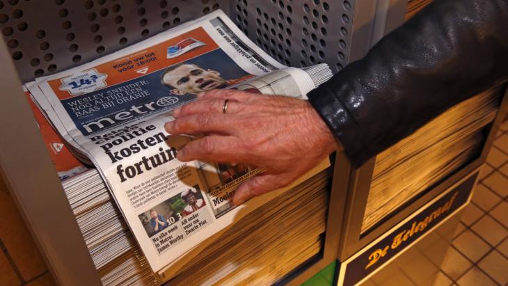 Papieren variant Metro verdwijnt