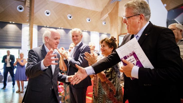 Henk Krol (r) en Geert Dales (l)