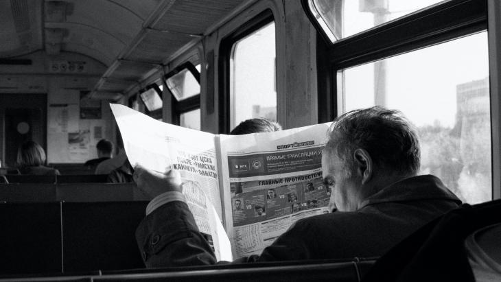krantenlezer