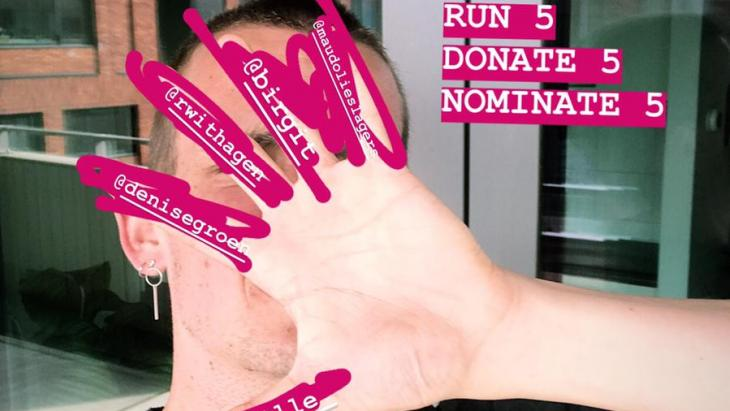 Run 5, donate 5 and nominate 5