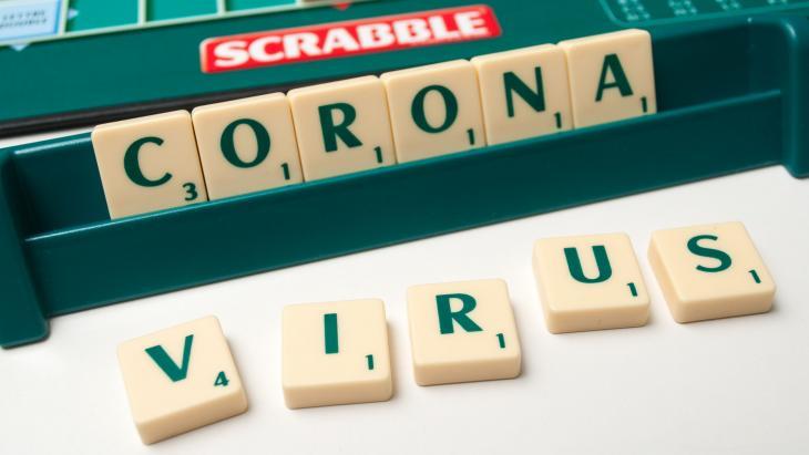 corona scrabble