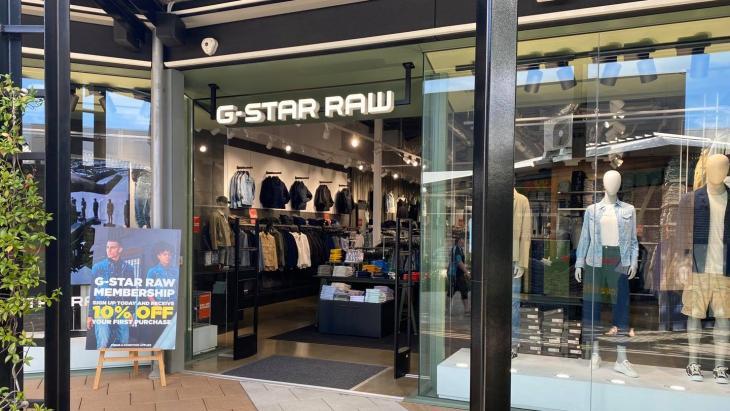 De vestiging van G-Star in Adelaide