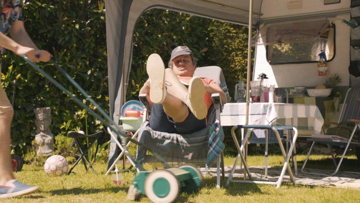 Jumbo Zomer-campagne is met de caravan in de tuin