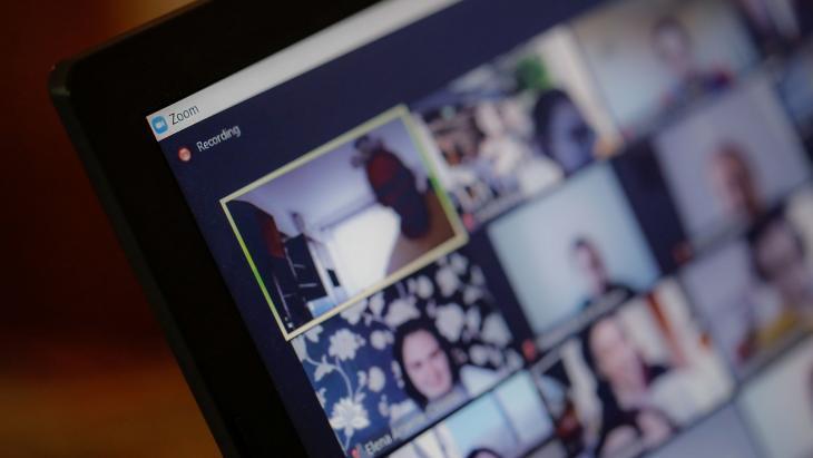 vergaderen via video