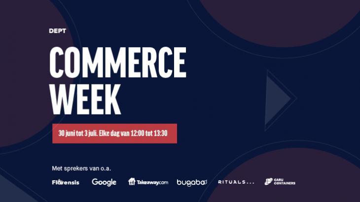 Vier dagen inspiratie voor B2C en B2B bij Dept Commerce Week
