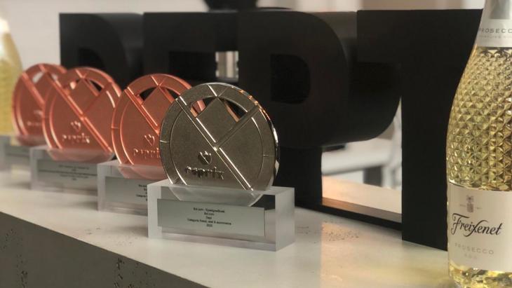 Dept wint vier Esprix Awards met bol.com en SIRE