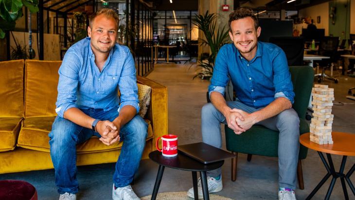 Jelmer Wind  en Frank de Wit - Studio Catwise