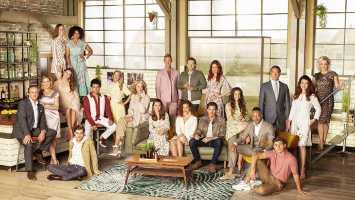 De cast van de soap Goede Tijden, Slechte Tijden