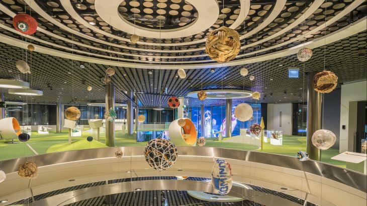 FIFA World Football Museum kiest Dept