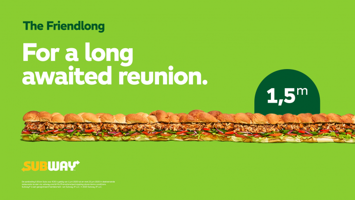 'The 'Friendlong'-sandwich | Subway | Achtung!