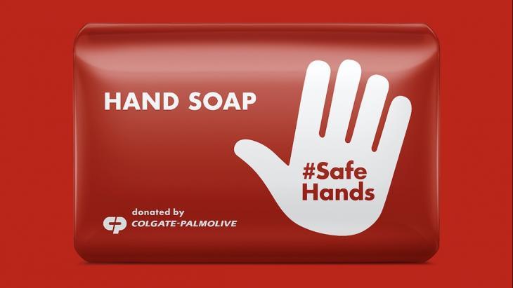 Handen wassen!