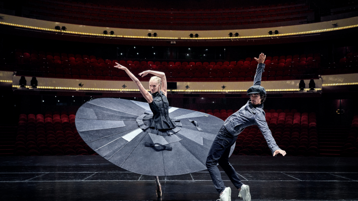 G-Star RAW en Het Nationale Ballet presenteren 'Safe distance ballet'