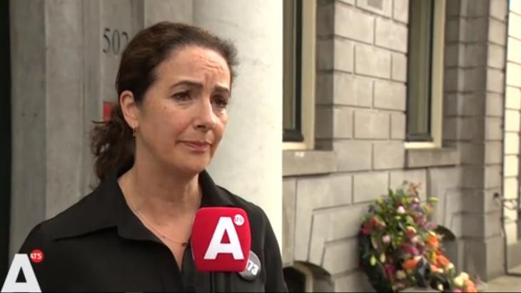 Femke Halsema zegt tegen AT5 dat er geen grond is de demonstratie te ontbinden:  'Daarvoor is de demonstratie ook te belangrijk'