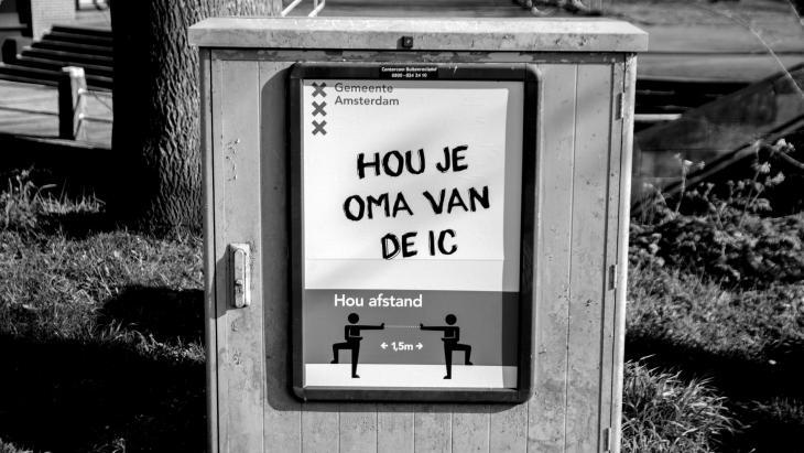 Affiche gemeente Amsterdam