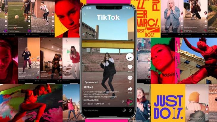 TikTok-campagne Nulla Puo Fermarci (Stop At Nothing) van Nike en bureau Analogfolk.