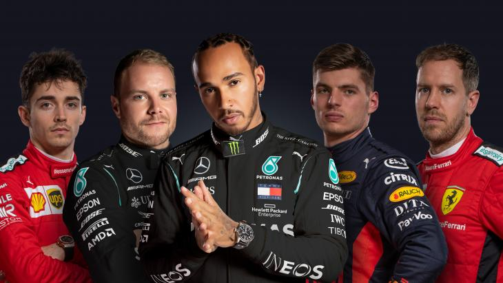 Coureurs Formule 1