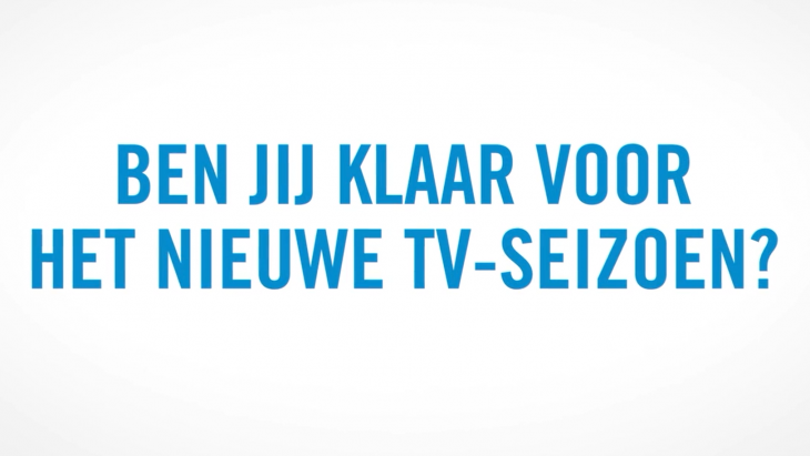 Ben jij klaar voor het nieuwe tv-seizoen?