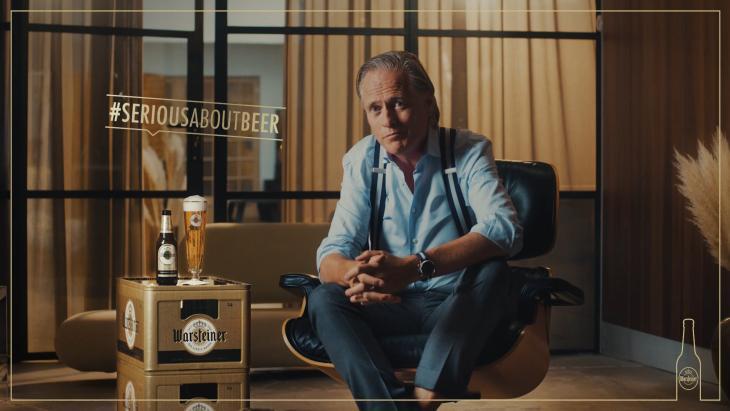 Warsteiner en Jort Kelder zijn serieus over bier