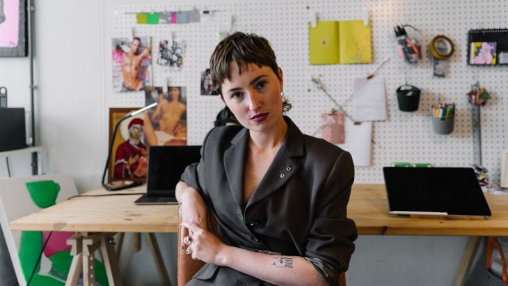 Zelfportretten van jonge kunstenaars vertellen de ontdekkingsreis naar de eigen identiteit